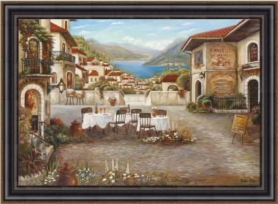 Dinner at Lake Como
